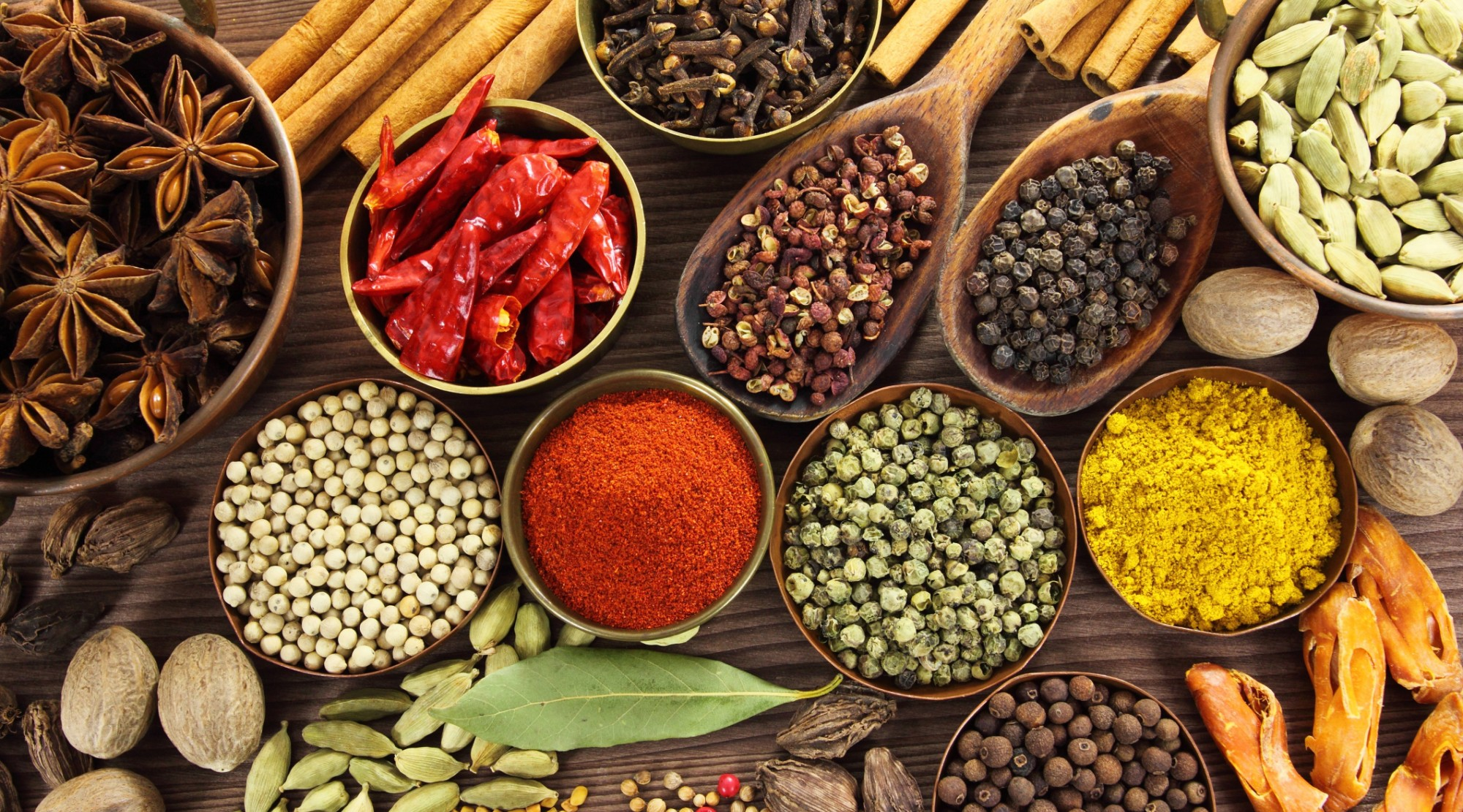 Must Have Culinary Spices For Duplicating The World's Cuisines